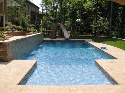 North Carolina In Ground Swimming Pool Filling Raleigh Durham Cary Chapel Hill Wake Forest
