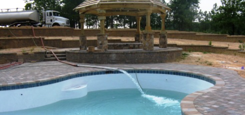 Swimming Pool Filling Bulk Water Service Raleigh Cary Chapel Hill Durham Wake Forest Truitt