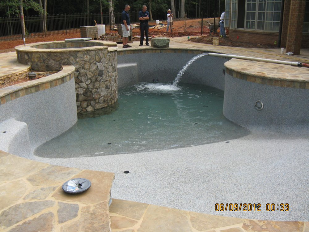 Pictures of north carolina luxury pools swimming pool filling delivery raleigh cary durham for Swimming pool water delivery cost